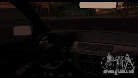 Mitsubishi Lancer Evolution für GTA San Andreas rechten Ansicht