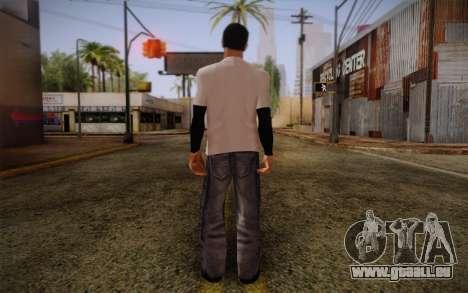 Ginos Ped 20 pour GTA San Andreas deuxième écran