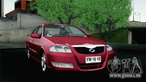 Renault Samsung SM3 2007 pour GTA San Andreas