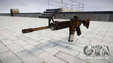 Tactique M4, fusil d'assaut cible pour GTA 4