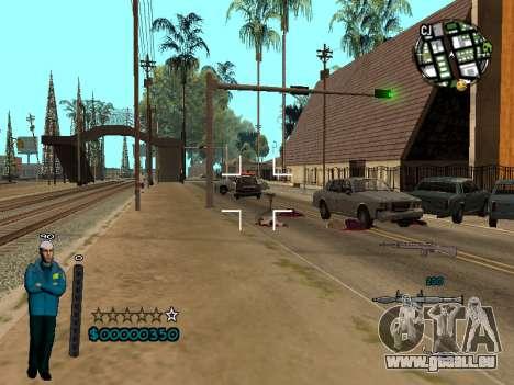 FBI HUD pour GTA San Andreas troisième écran