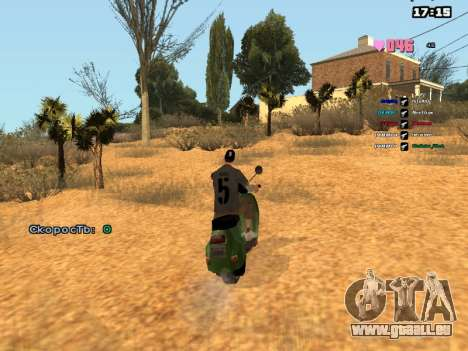 SAMP Fixer pour GTA San Andreas troisième écran