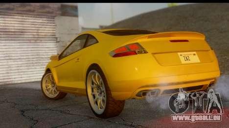 GTA 5 Maibatsu Penumbra IVF pour GTA San Andreas laissé vue