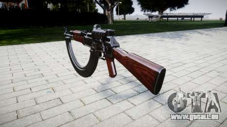 Die AK-47-Kollimator-und Ziel-HICAP für GTA 4 Sekunden Bildschirm
