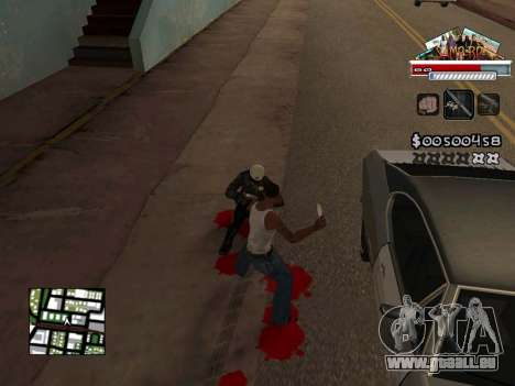 CLEO HUD for SA:MP - RP für GTA San Andreas her Screenshot