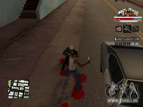 CLEO HUD for SA:MP - RP pour GTA San Andreas quatrième écran