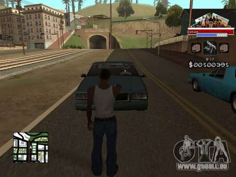 CLEO HUD for SA:MP - RP für GTA San Andreas zweiten Screenshot