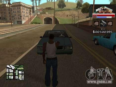 CLEO HUD for SA:MP - RP pour GTA San Andreas deuxième écran