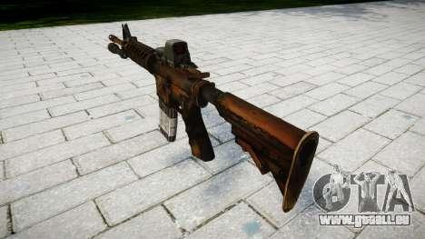 Taktische M4 STURMGEWEHR Ziel für GTA 4 Sekunden Bildschirm