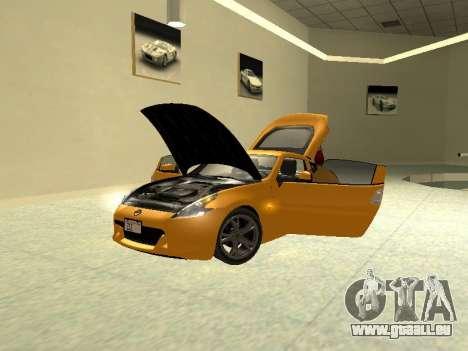 Nissan 370 Z Z34 2010 Tunable für GTA San Andreas Rückansicht