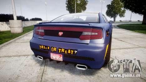 GTA V Bravado Buffalo Halloween Special für GTA 4 hinten links Ansicht