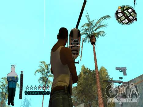 FBI HUD für GTA San Andreas fünften Screenshot