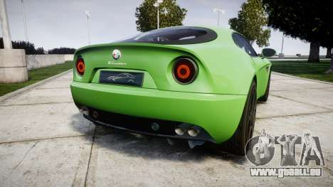 Alfa Romeo 8C Competizione 2008 für GTA 4 hinten links Ansicht