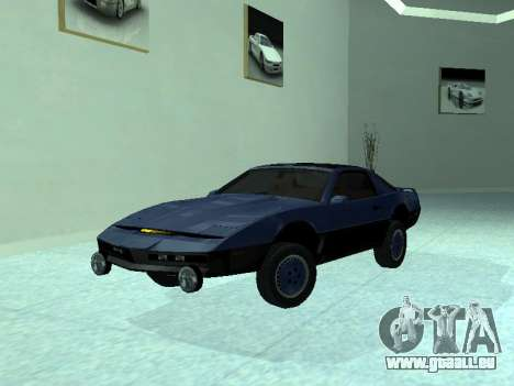 Pontiac Trans-Am K. A. R. R. pour GTA San Andreas vue de côté