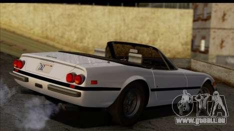 Ferrari 365 GTS4 Daytona (US-spec) 1971 pour GTA San Andreas laissé vue