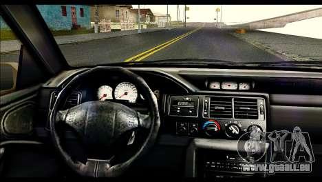 Ford Escort RS Cosworth [HQLM] pour GTA San Andreas sur la vue arrière gauche