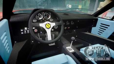 Ferrari F40 1987 [EPM] Tricolore pour GTA 4 est une vue de l'intérieur