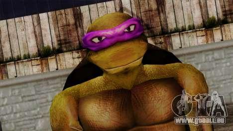 N' (Tortues Ninja) pour GTA San Andreas troisième écran