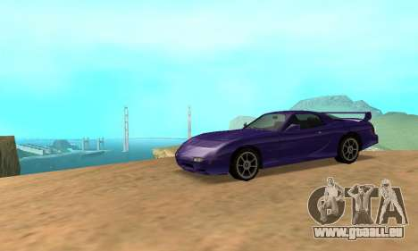Beta ZR-350 für GTA San Andreas rechten Ansicht
