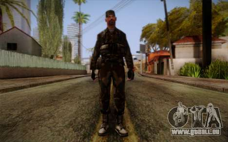 Soldier Skin 3 pour GTA San Andreas