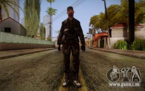 Soldier Skin 3 für GTA San Andreas