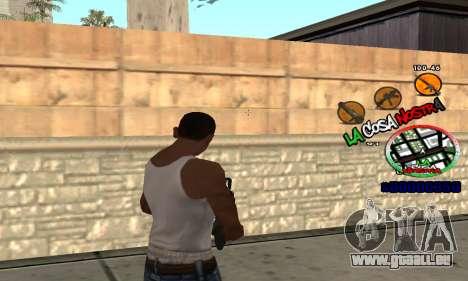C-HUD La Cosa Nostra pour GTA San Andreas troisième écran