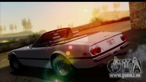 Ferrari 365 GTS4 Daytona (US-spec) 1971 für GTA San Andreas Unteransicht