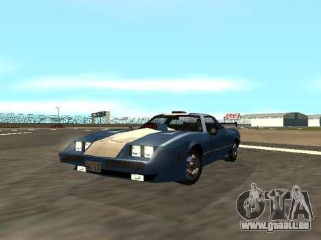 New Phoenix pour GTA San Andreas vue arrière