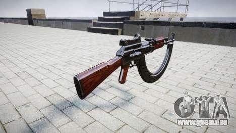 Die AK-47 Kollimator und HICAP für GTA 4 Sekunden Bildschirm