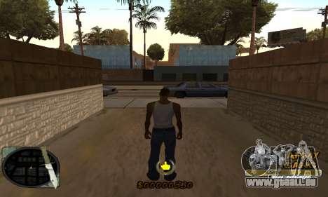 C-HUD Army Gang pour GTA San Andreas deuxième écran