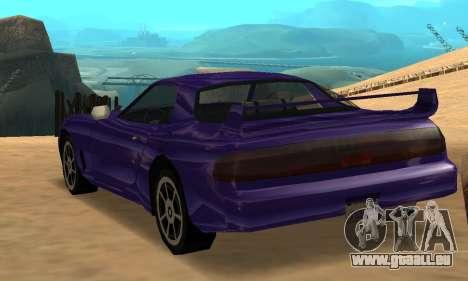 Beta ZR-350 für GTA San Andreas linke Ansicht