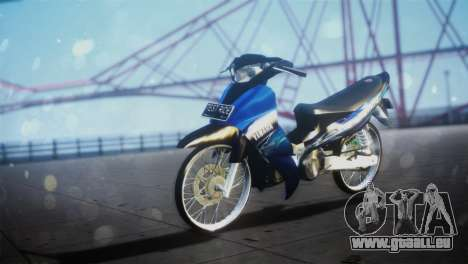 Yamaha Jupiter Z Burhan für GTA San Andreas