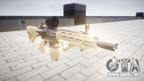 Fusil AR-15 CQB cible d'un aimpoint pour GTA 4
