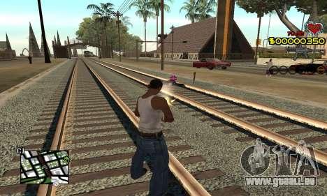 C-HUD By Fernando pour GTA San Andreas