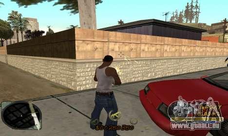 C-HUD Army Gang für GTA San Andreas dritten Screenshot