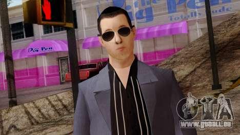 LCN Skin 4 für GTA San Andreas dritten Screenshot