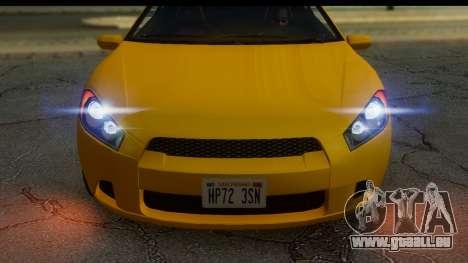 GTA 5 Maibatsu Penumbra IVF pour GTA San Andreas sur la vue arrière gauche