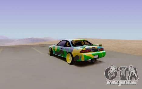 Nissan Silvia S14 Hunter pour GTA San Andreas laissé vue