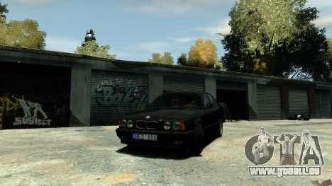 BMW M5 E34 1995 pour GTA 4 est un droit
