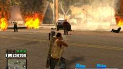 C-HUD Big Cull für GTA San Andreas