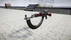 L'AK-47 le Collimateur et la cible HICAP