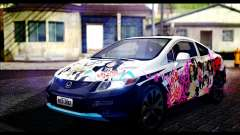 Honda Civic SI 2012 Itasha K-ON