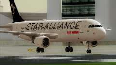 Airbus A320-200 Air India (Star Alliance Livery) pour GTA San Andreas
