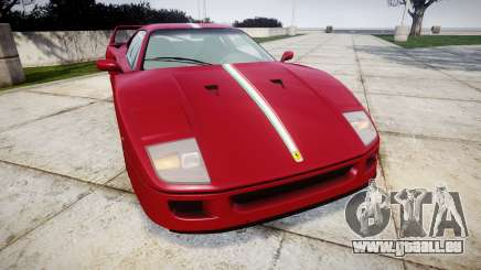 Ferrari F40 1987 [EPM] Tricolore pour GTA 4