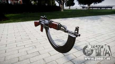 L'AK-47 Collimateur et HICAP pour GTA 4