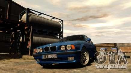 BMW M5 E34 1995 pour GTA 4