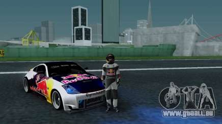 Nissan 350Z Red Bull pour GTA San Andreas