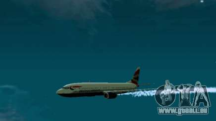 Boeing 737-800 British Airways pour GTA San Andreas