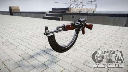 L'AK-47 le Collimateur et la cible HICAP pour GTA 4