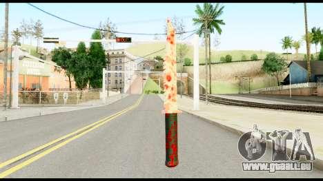 Knife with Blood pour GTA San Andreas deuxième écran